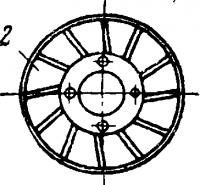 Торцоваяповерхностьдиска для анодно-механического затачивания