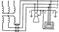 Трехпроводная систематокас изолированной нейтралью