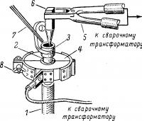 Наварка алюминиевого наконечника на алюминиевую жилу