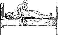 Смена белья у тяжелобольного