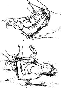 Смена рубашки у больного