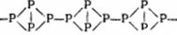 Строение красного фосфора