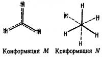 Строение предельных углеводородов