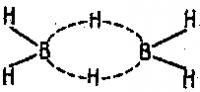 Две трех центровые орбитали