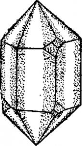 Кристаллические и аморфные вещества, горный хрусталь