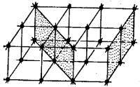 Узлы и плоскости кристаллической решетки